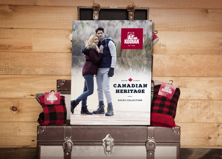 Canadian Heritage Socks catalog cover