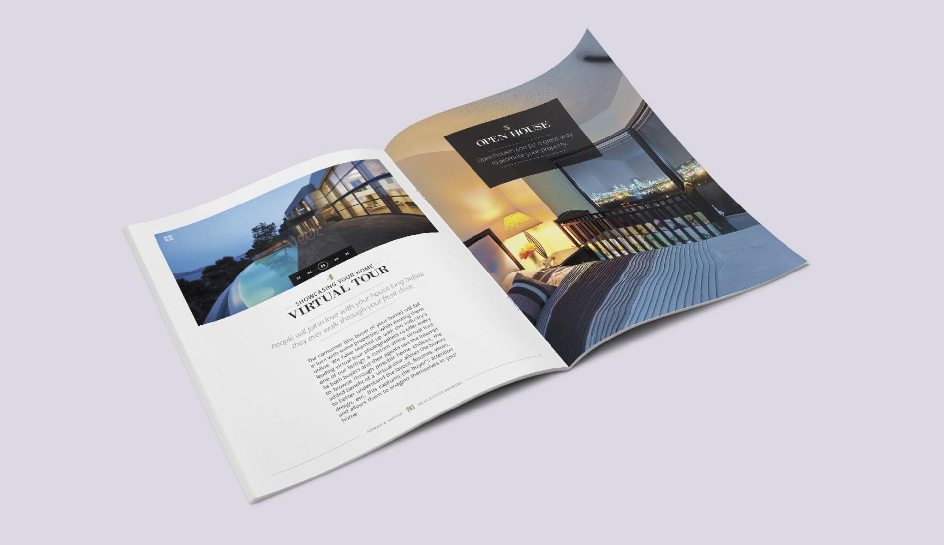 Real estate broker brochure (Montreal)