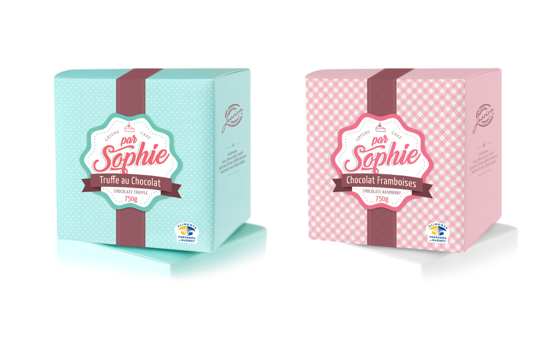 Cakes packaging design