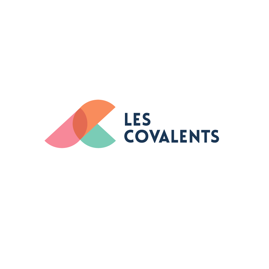 Conception logo de l'agence marketing Les Covalents