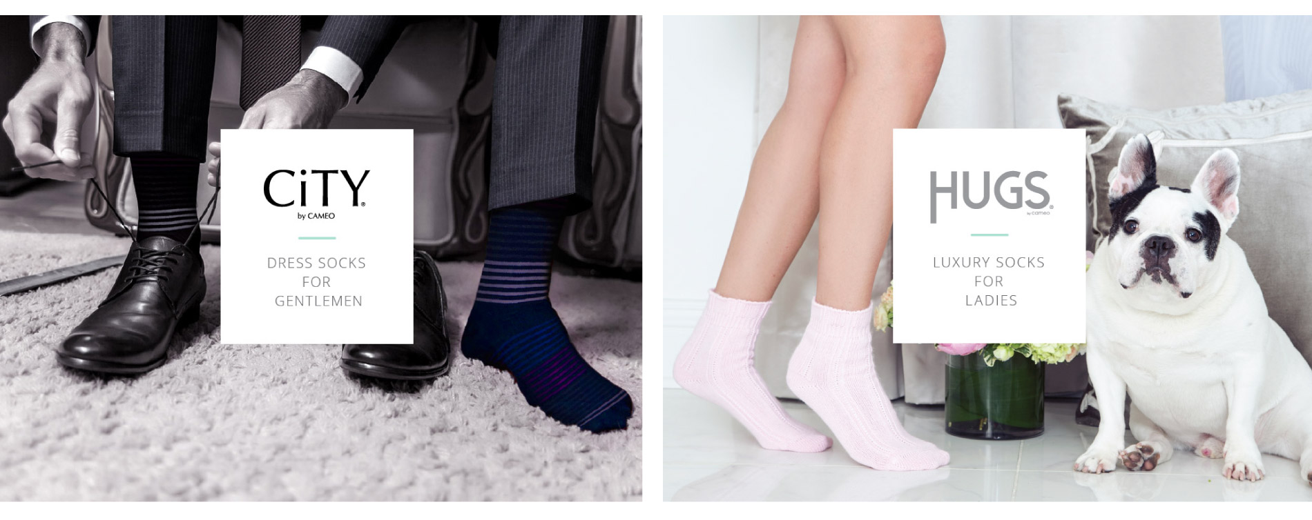 Exemples de collections cameo socks