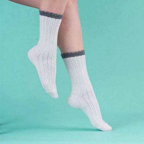 Conception du site web Cameo Socks (chaussettes et bas). Aperçu de projet.