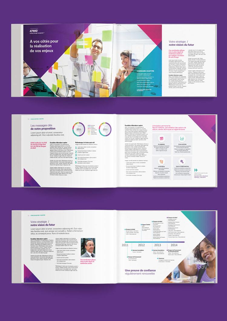 Brochure financière / proposition commerciale