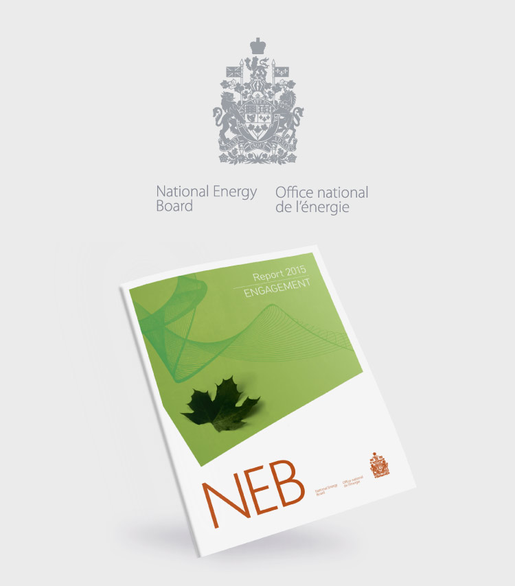 Conception du rapport annuel de l'Office national de l'énergie (Canada)