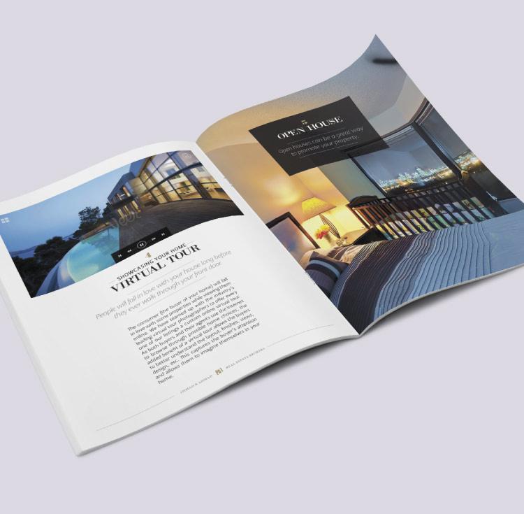 Brochure pour courtier immobilier Montréal