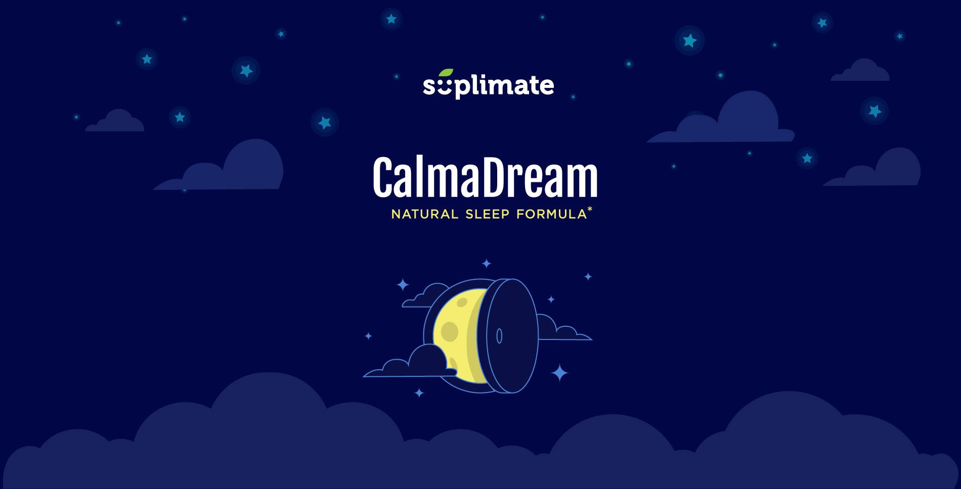 Identité visuelle Calma Dream - calmant et somnifère