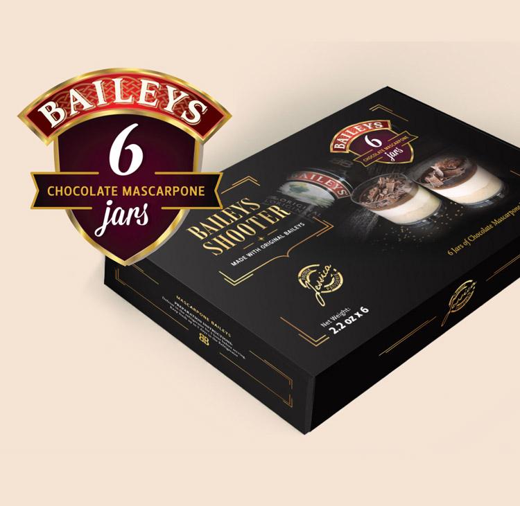 Baileys dessert packaging design